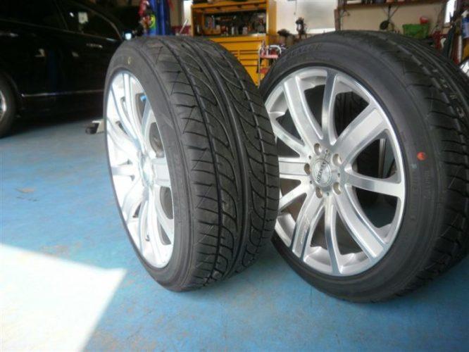 製造年の新しい中古タイヤ